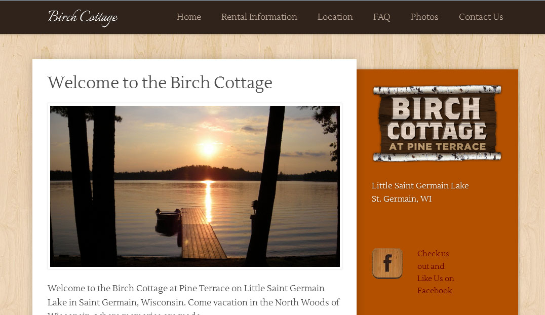 Birch Cottage at Pine Terrace